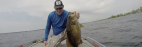 How to catch HUGE Summertime Smallmouth Bass!